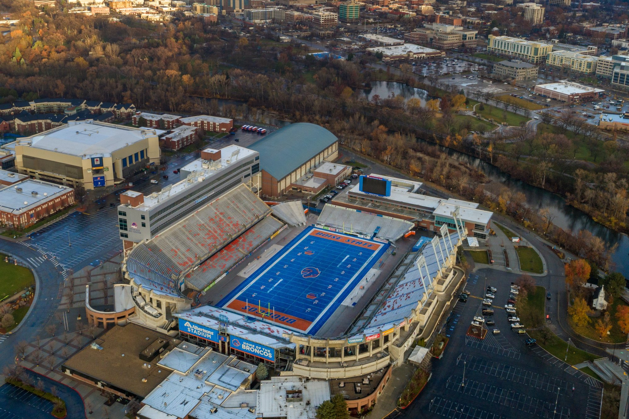 Boise State Football Field in Southeast Boise